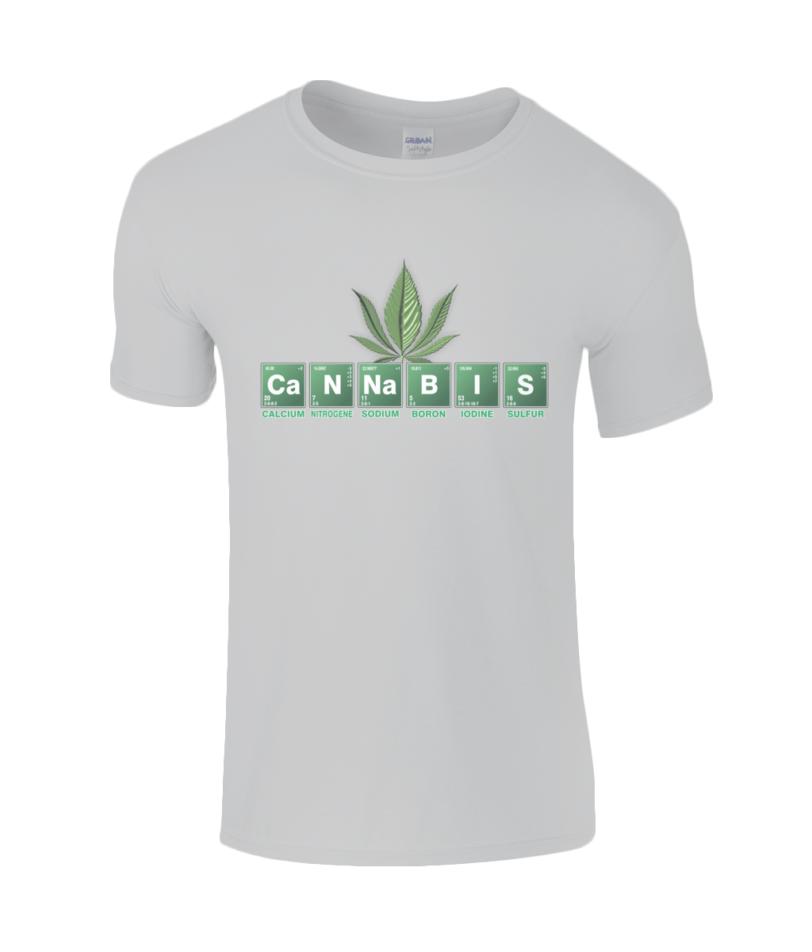 Gildan SoftStyle® Ringspun T-Shirt cannabis papa65