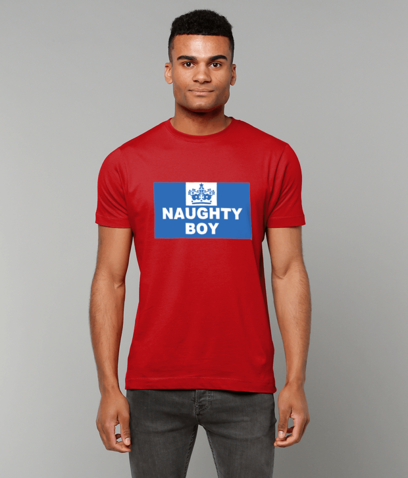 Gildan Heavy Cotton T-Shirt naughty-boy Naughty Clothes