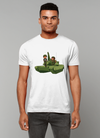 Gildan Heavy Cotton T-Shirt Army Tank Military Items