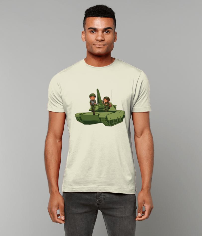 Gildan Heavy Cotton T-Shirt Army Tank Military Items