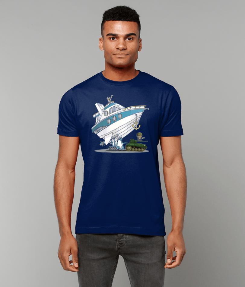 Gildan Heavy Cotton T-Shirt Navy style Military Items