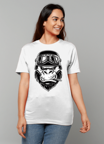 Gildan Heavy Cotton T-Shirt angry ape papa65