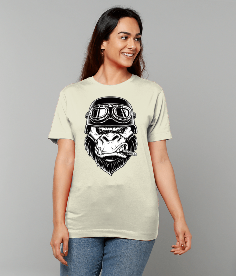 Gildan Heavy Cotton T-Shirt angry ape papa65