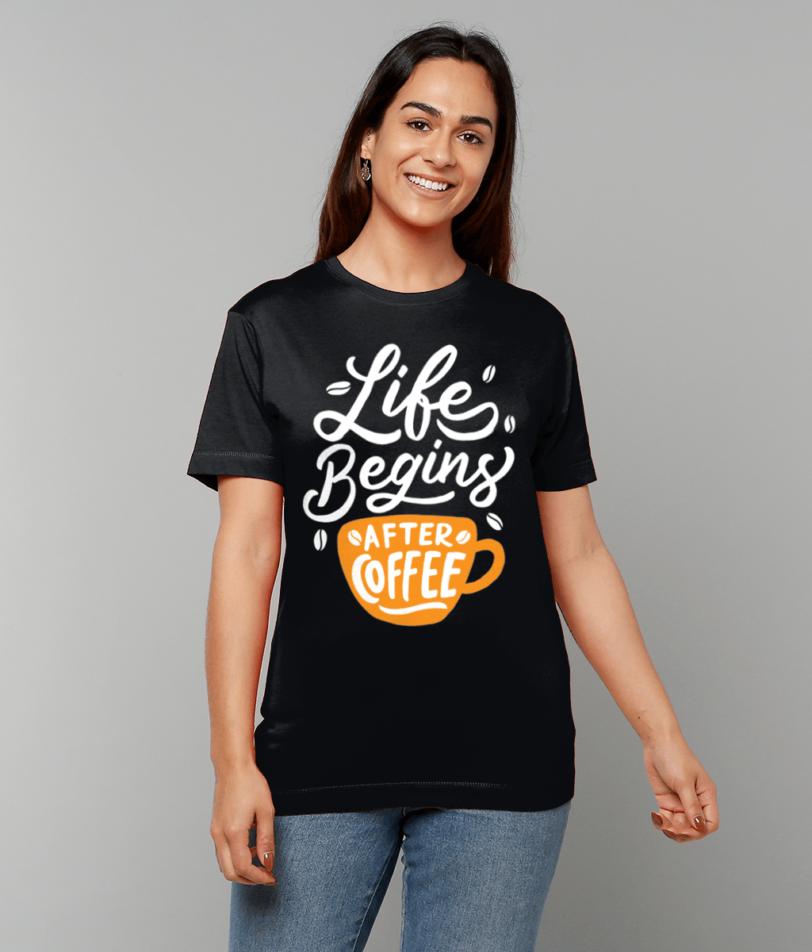 Gildan Heavy Cotton T-Shirt coffee papa65