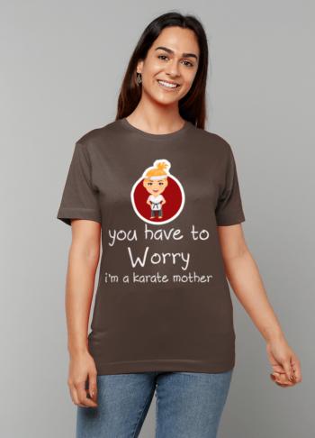 Gildan Heavy Cotton T-Shirt karate mom papa65