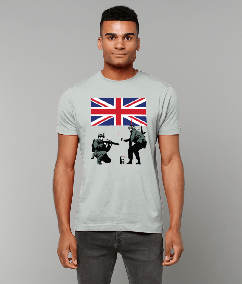 Banksy style Army Military Items