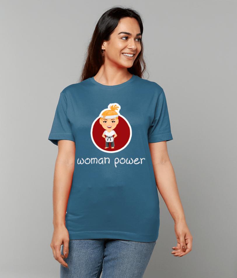 Woman Power ladies tshirt papa65